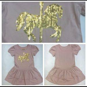 New Joyfolie Carousel Dress in Vintage Pink Sz 7